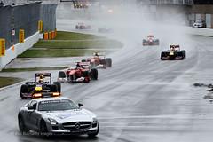 Safety Car Canadian GP F1 2011 (Zip250) Tags: canada rain mercedes montreal f1 ferrari formula1 redbull 2011 safetycar
