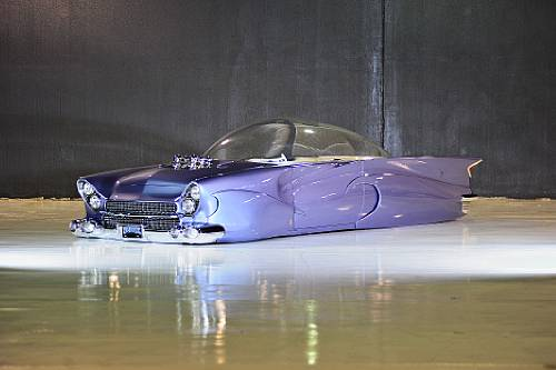 """1955 Ford Beatnik Bubbletop - built by Gary """"Chopit"""" Fioto"""