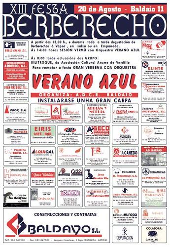 Carballo 2011 - XIII Festa do Berberecho en Baldaio - cartel
