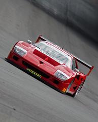 GT Trophy Simpson Motorsport Ferrari F40 (A Mott/J Sebastiani) (motorsportimagesbyghp) Tags: canon motorracing motorsport sportscars brandshatch gtracing eos50d gtcars gtcup sigma100300f4ex gttrophy butemotorsport