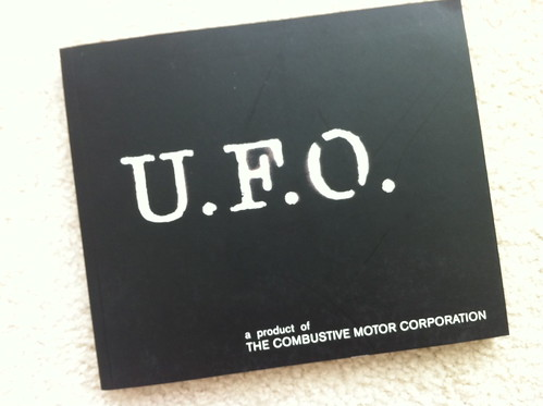 UFO 'A Product Of The Combustive Motor Corp by billy craven