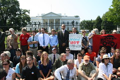 Tar Sands Action first day- August 20, 2011