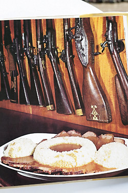 rifles and cake