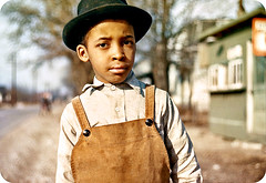 Black Little Boy In or Around Cincinnati, Ohio - circa 1942 (vieilles_annonces) Tags: old news black history vintage magazine scans african negro historic ephemera nostalgia american blackpeople historical americana colored 1942 articles oldphotos greatdepression civilrights blackhistory vintagephotos africans africanamericanhistory farmbureau peopleofcolor vintagephotographs cincinnatiohio blackfolks vintagemagazine coloredpeople johnvachon negrohistory blackpress blacknews