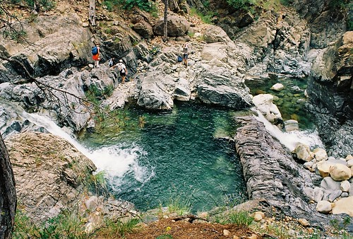 Natural pool at Arkoudorema