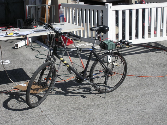 Fan powered bike