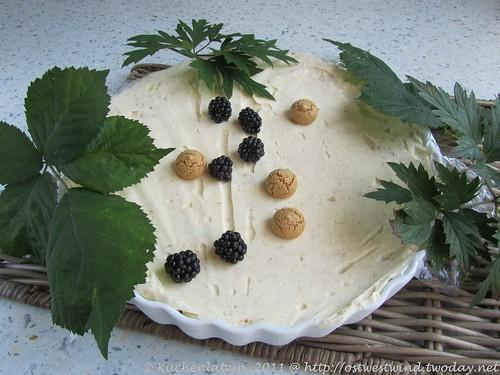 Amaretto-Parfait mit Brombeeren (2)