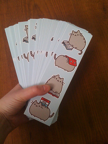 pusheen bookmarks
