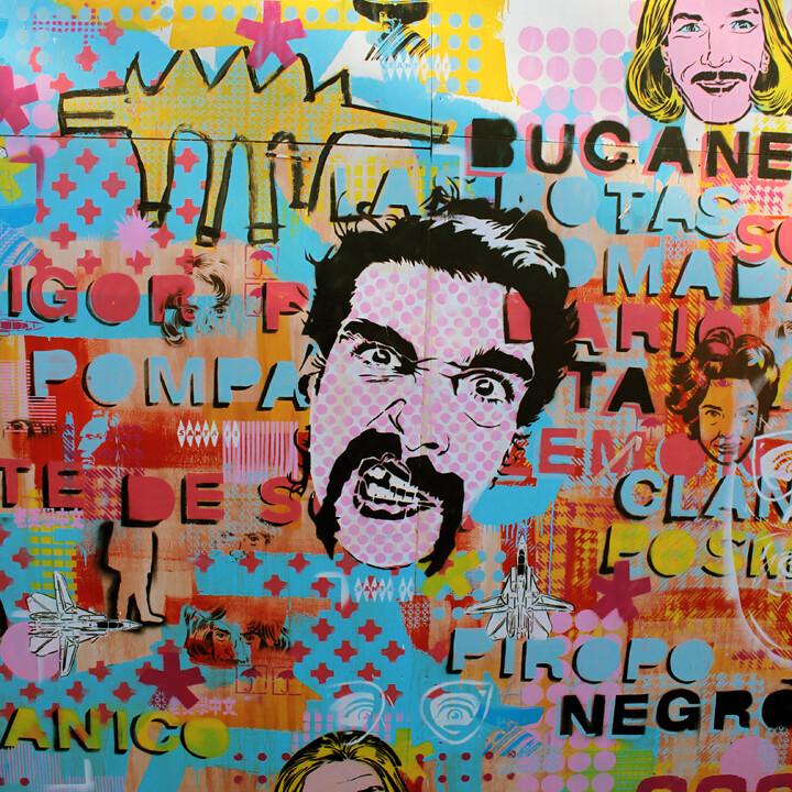Stencil Land + Cabaio Stencil + rundontwalk + bs.as.stncl @ Tecnopolis