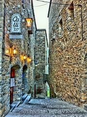 Calizo Restaurante - Ansa (Huesca) (carl caesar) Tags: street old stone pared restaurant huesca country restaurante hdr piedra aragn ansa callizo carlcaesar