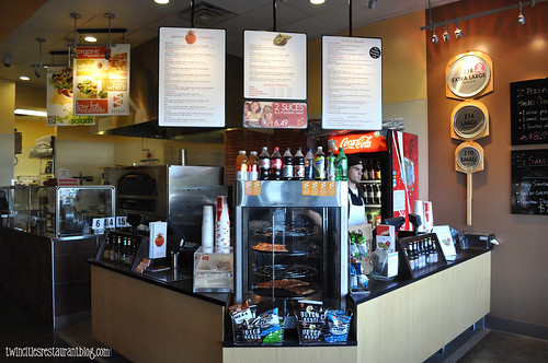 Counter Area at Z Pizza ~ Roseville, MN