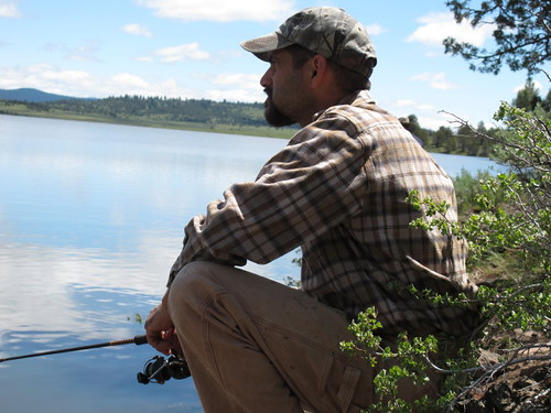 Manly contemplations while fishing