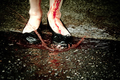Splash - OPAD2011 #208 (Theodropham) Tags: toronto car blood zombie walk wash brains suds