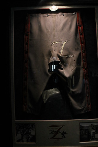 Zorro Costumes At The Treasures Of The Walt Disney Archives At The