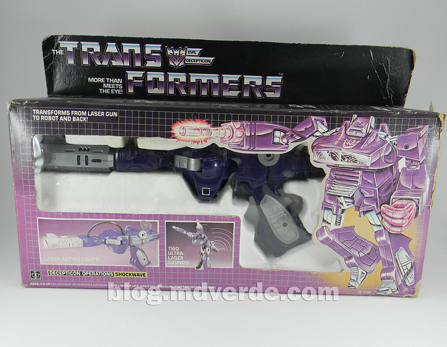 Transformers Shockwave G1 - caja
