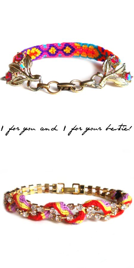Frieda & Nellie Friendship Bracelets