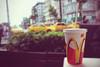 (- M7D . S h R a T y) Tags: red summer blur color ice yellow focus bokeh taxi turky mcdonalds m cocacola wordsbyme تركيا ماكدونالدز allrightsreserved™ شبابفيرحلة