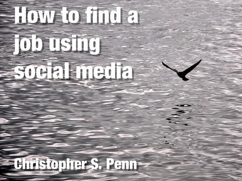 Social Media Job Search Webinar 8/31 8 PM ET