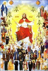 سحابة القديسين والشهداء