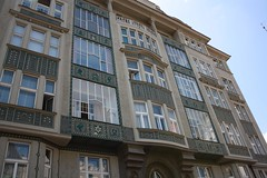"Decorative house in Jewish Quarters of Prague (Prag/Praha) • <a style=""font-size:0.8em;"" href=""http://www.flickr.com/photos/23564737@N07/6082621949/"" target=""_blank"">View on Flickr</a>"