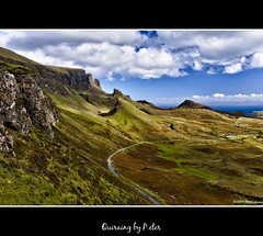 Quiraing (pDOTeter) Tags: skye bay scotland nikon europe isleofskye hdr staffin quiraing d90 photomatix tonemapping nikond90 photoengine oloneo