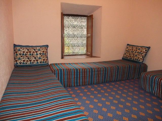 bedroom in gite in Azzaden Valley, Atlas Mountains