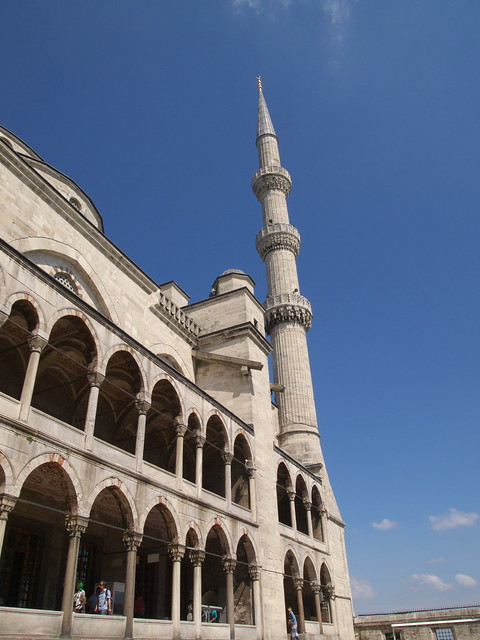 藍色清真寺入口