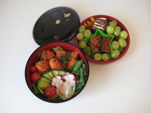 Yummy Meatless Monday Bento #152