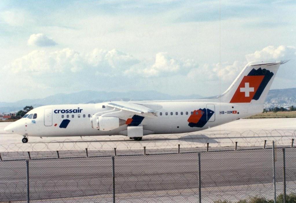 CROSSAIR AVRO RJ-100 HB-IXM(cn3291)