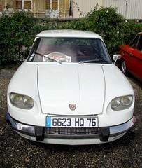 Panhard PL24 blanche (gueguette80 ... non voyant pour une dure indte) Tags: old cars eu autos blanche panhard anciennes seinemaritime 2011 franaises pl24