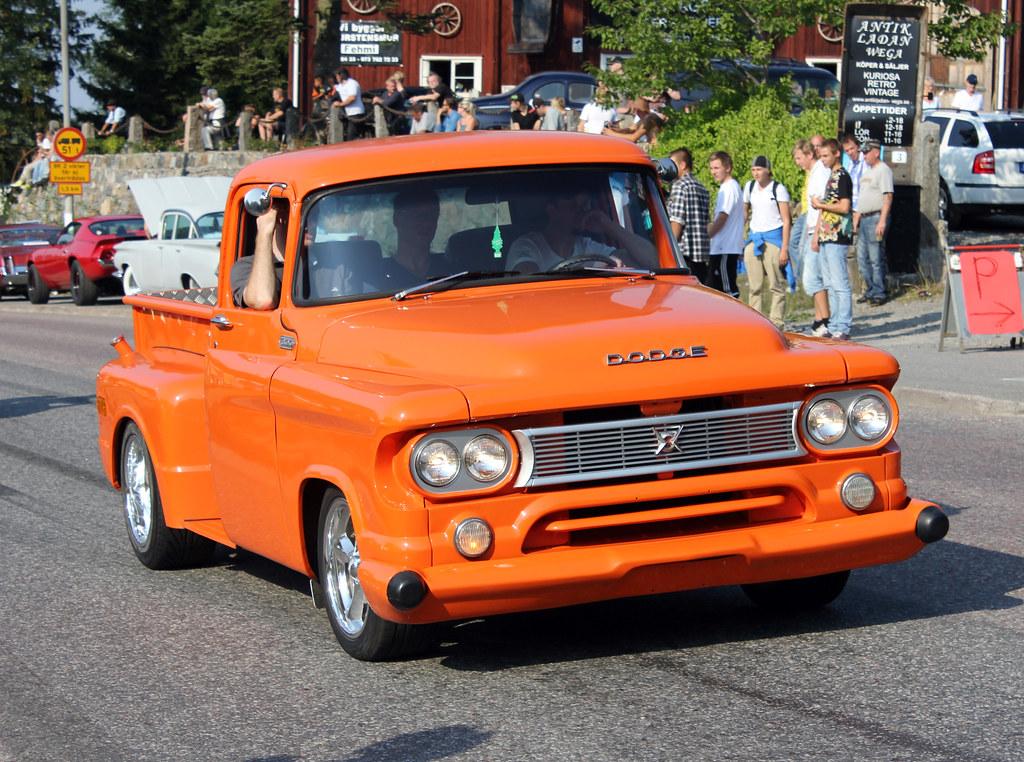 Orange Dodge
