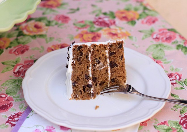 Zucchini & Chocolate Chip Layer Cake