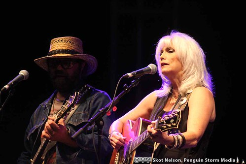 Emmylou Harris and Daniel Lanois at the Greenbelt Harvest Picnic