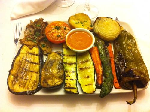 Tavèrnoles | Restaurant Fussimanya | Parrillada de verduras