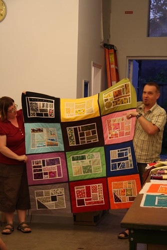 Paul's Bottled Rainbows quilt by myredbike