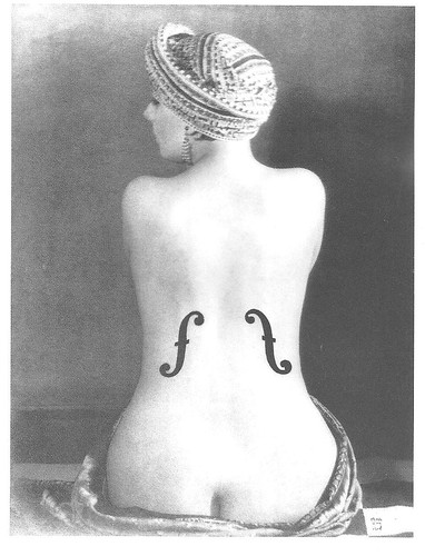 Man Ray (1890-1976) Le Violon d