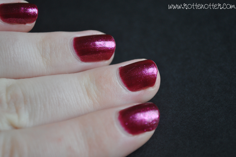 NOTD opi the one that got away nail polish 03