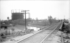 Looking southeast from B&O RR over Stony Creek (5-23-1917) (Norman Rexford) Tags: historic bo westernave stonycreek calumet stbenedict dixiehighway mwrd blueisland rockislandrailroad calsag littlecalumet saganashkee fayspoint