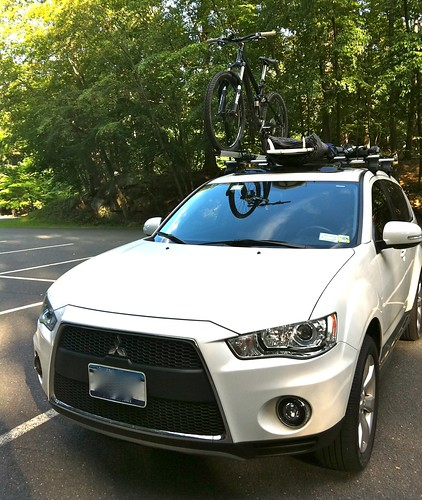 Hereu0027s A Day That I Went Surfing And Mountain Biking On Same Day. As You  Can See The Only Way Hitch Rack Will For Me Is... I Will Have Both...roof  Rack For ...