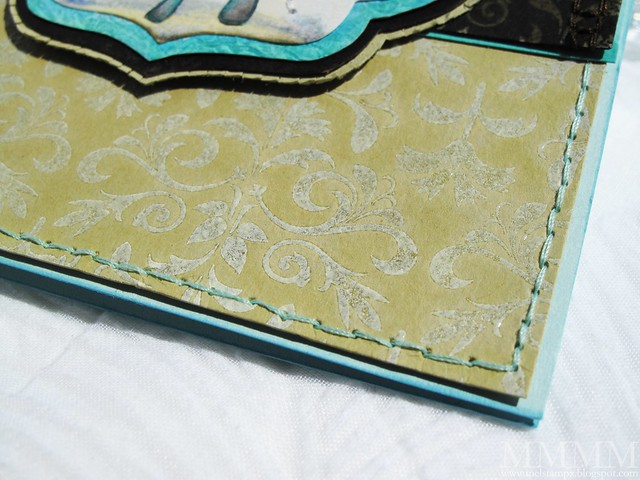 distressed embossing