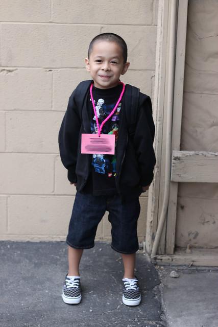duke's first day of kindergarten!