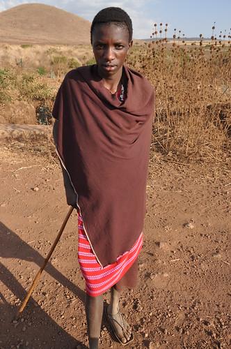 Maasai boy