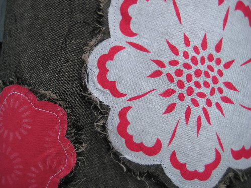 Raw Edge Applique by Poppyprint