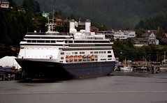 Cruise ship - Holland America Amsterdam (blmiers2) Tags: travel cruise alaska nikon ship cruiseship hollandamericaamsterdam d3100 blm18 blmiers2