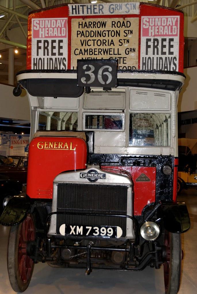 1921 AEC S-Type Bus (1)
