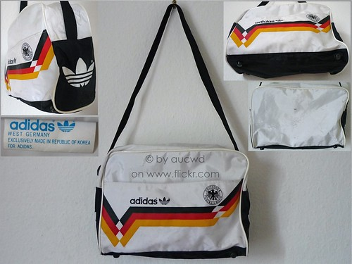 dd509221bb 80`S VINTAGE ADIDAS DFB WORLD CUP 1990 SPORT BAG - a photo on Flickriver