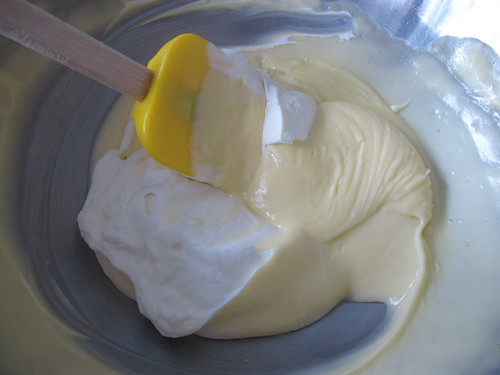 Whipped cream being added