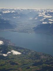 over Vaud (Riex) Tags: lake mountains alps alpes landscape switzerland flying suisse bret lac leman paysage aerialphotography birdseyeview montagnes rhone vaud envol s95 canonpowershots95