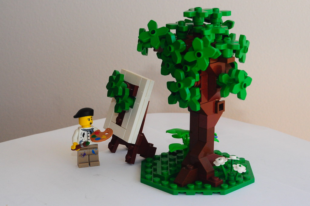 The World S Best Photos Of Easel And Lego Flickr Hive Mind
