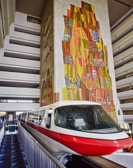 Monorail Red (Ray Horwath) Tags: nikon murals disney disneyworld transportation nikkor wdw waltdisneyworld topaz contemporaryresort disneytransportation nikkorlens maryblair horwath monorailred disneyresorts monorails cs5 disneyscontemporaryresort d700 expressmonorail disneyphotos disneyhotels rayhorwath expressbeam disneymonorails topazadjust4 disneymurals nikkor20mmf28lens contemporaryresortmural